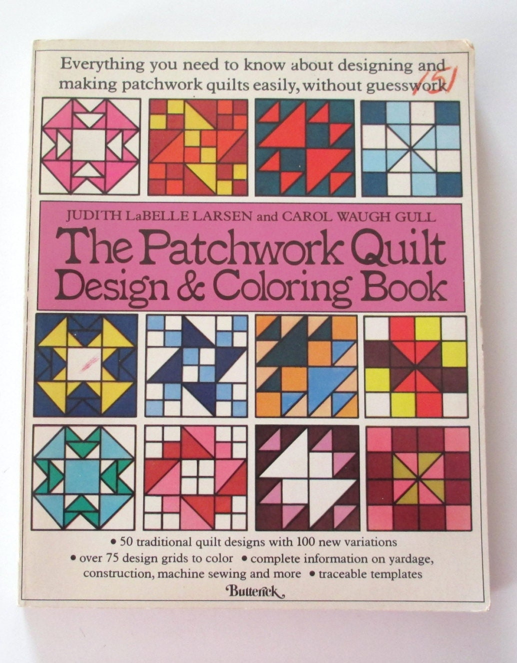 Vintage Patchwork Quilt Design Amp Coloring Book By AStringorTwo