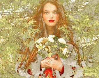 "Postcard photography art ""Eleanor"""