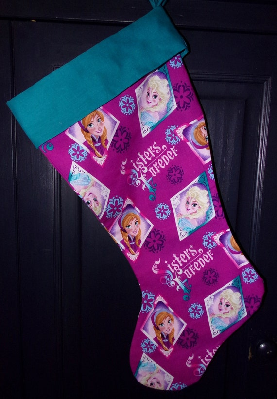 Frozen  Christmas Stocking