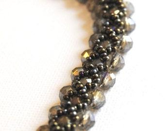 Brown Criss-Cross Bracelet