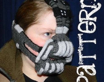 Crochet Pattern - Bane Mask