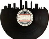 Cleveland Skyline Records Redone Label Vinyl Record Wall Art