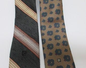 Pierre Cardin Ties, Vintage Pierre Cardin Tie, 1960-70's ties, Mad Men tie