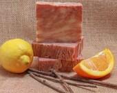 Citrus Cedar Sage Handmade All Natural Soap Homemade