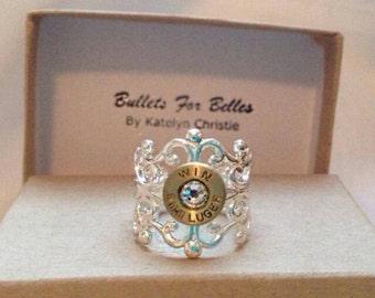 Silver filligree ring