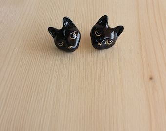 Nil, Cat Earrings