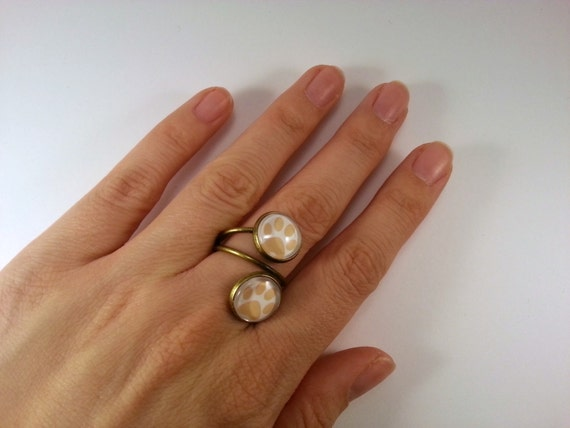 Cats paw cock ring simple