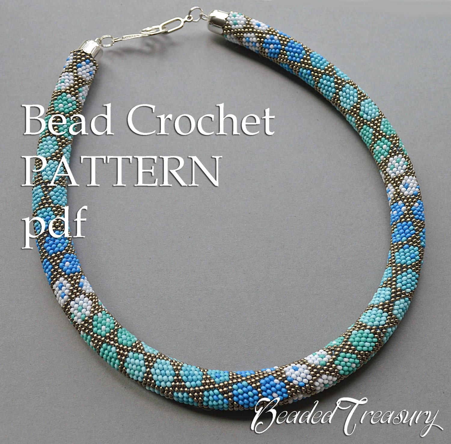 City style bead crochet pattern necklace pattern bead crochet rope city style bead crochet pattern necklace pattern bead crochet rope seed bead necklace modern jewelry beaded necklace pattern only bankloansurffo Image collections