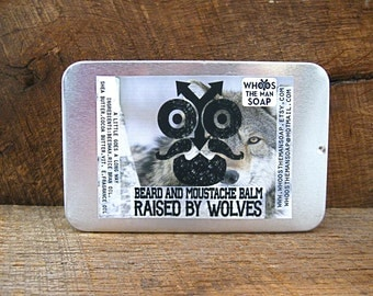 RAISED BY WOLVES Beard and Moustache Balm