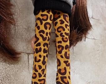 blythe clothes,Pants leopard