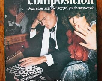 Rare 1970s/80s Vintage Retro Shape Composition Game