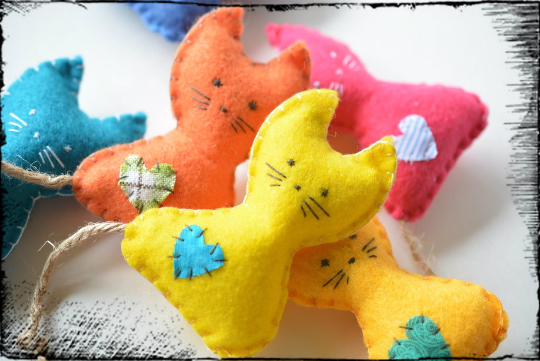 Catnip Toys For Valentine S Day : Organic catnip toy valentine s cat gift toys felt
