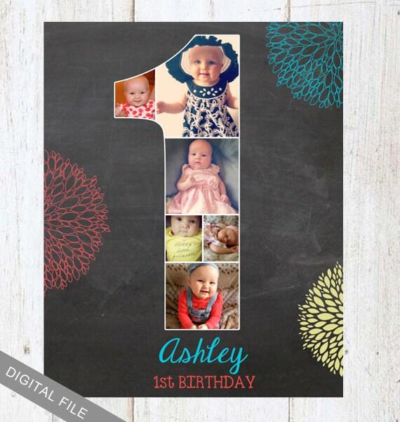 First Birthday Background Board 1st Birthday Room Decoration