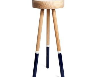 Coffee Table / Side Table /  Minimal / Modern / Dipped Legs