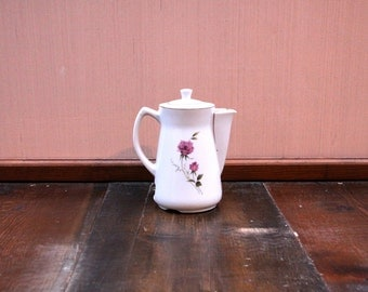 Tea for Two Vintage Ceramic Kettle ~CLEARANCE~Flat Rate Shipping [Retro Shabby Chic Tea Pot