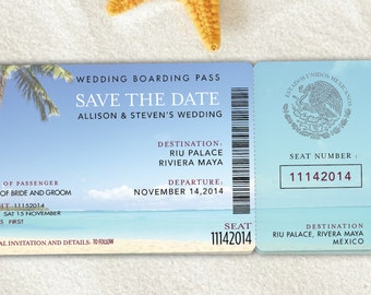 Save the date destination wedding | Etsy