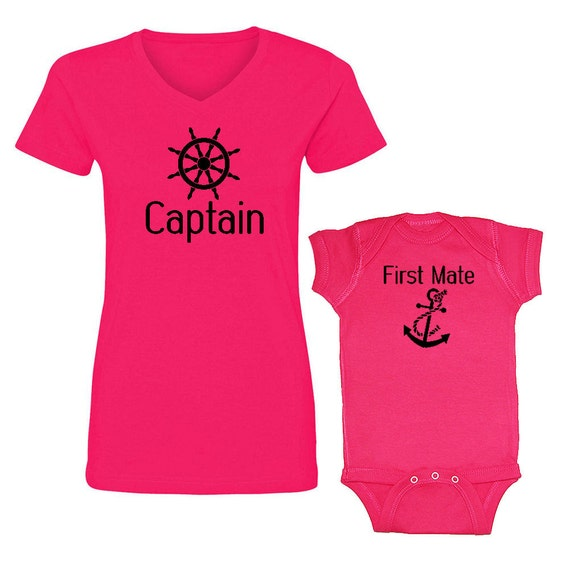 We match captain first mate 2 piece matching by for Sweaty t shirts and human mate choice