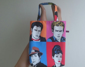 Shop bag pop art tote bag
