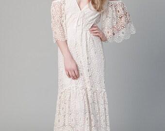 Bohemian Wedding Dress Petunia Gown