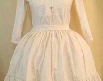 White Vine Lolita Skirt