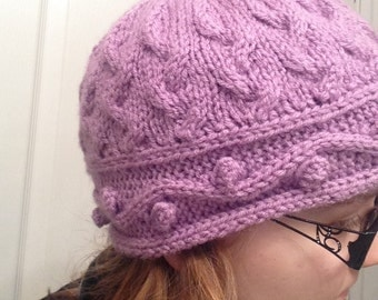 Intricate Cabled Hat Knitting Pattern