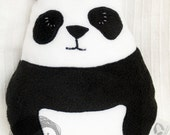 Stuffed toy animal decorative pillow - Panda
