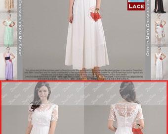 White Organza Maxi Dress - White Maxi Dress - Black Lace Prom Dress - Layered Lace Dress - Blue Lace Dress - Prom Dress Maxi Dress 75
