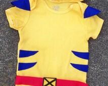 Wolverine, Baby Costume, Superhero, X-Men
