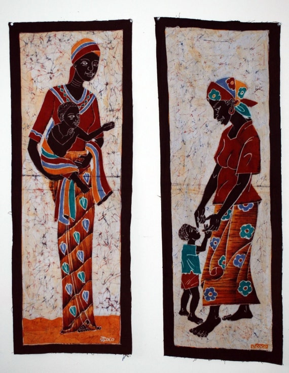 African Batik Home Decor Art For Sale African Art Prints