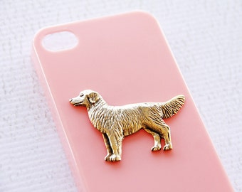 Retriever Apple iPhone 7 Plus High Shine Gold Plated Plastic Hardshell Case in Pink iPhone 6 iPhone 7 Case iPhone 7 Plus Case