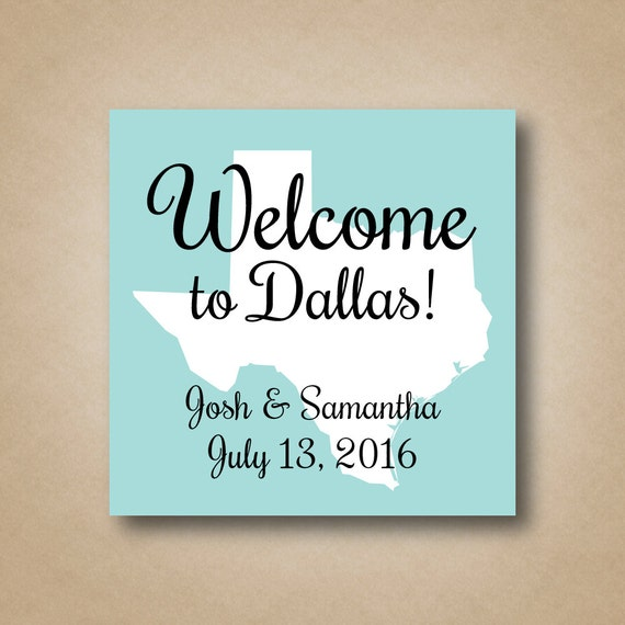 wedding welcome stickers state welcome stickers welcome bag favor