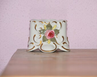 Napoli porcelain table decoration, marked