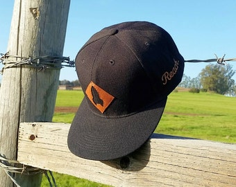 ROCKET SHIP - Black Snapback Hat