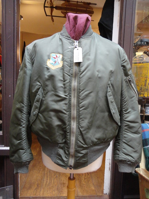 Vintage Ma 1 Flight Jacket - JacketIn