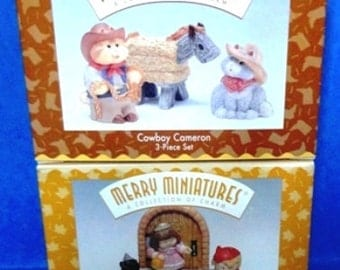 Hallmark Miniatures Set #21