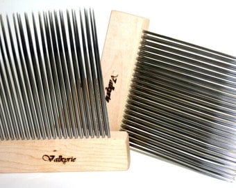 Wool Combs, Extra Fine Double Row Valkyrie Viking Comb