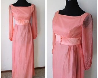 SALE: Vintage Lorrie Deb formal Dress • Material Collections