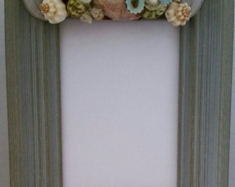 Beautiful Shell accented picture frame