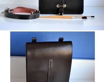 Minimalistic Vintage Bag 1978, Never Used military messenger bag, retro bag for her, brown military bag for him, Military Tote, Vintage Gift