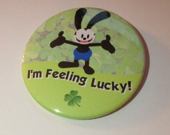 Oswald the Lucky Rabbit I'm Feeling Lucky Button