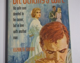 Dr. Jeremy's Wife by Elizabeth Seifert Dell #1978 1963 Vintage Romance Paperback