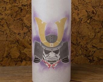 Samurai kabuto - Samurai helmet - Samurai painting - Samurai japanese lamp - Samurai Japan oriental lantern