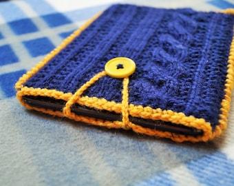 SALE....Crochet tablet case,iPad sleeve,Tablet cover