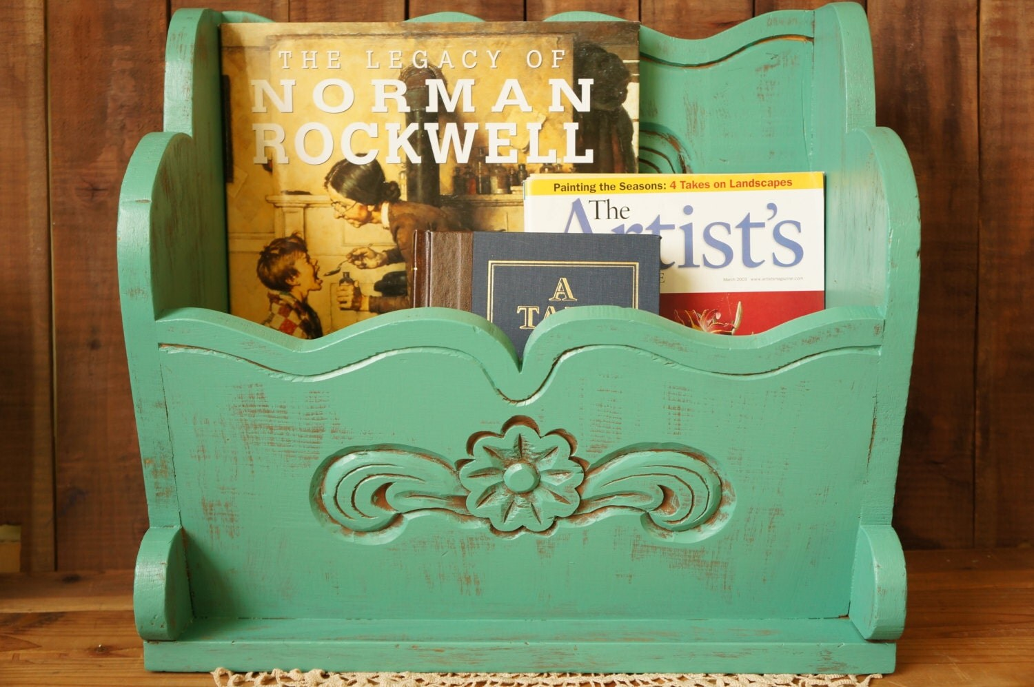 Rhino Magazine Rack Teal Magazine Rack Shabby