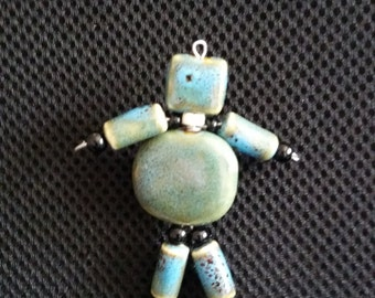 Friendly Figure Pin