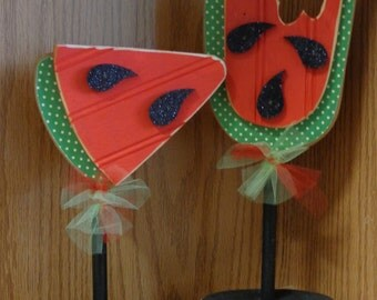 Watermelon stands, Home Decor, Summer Decor,