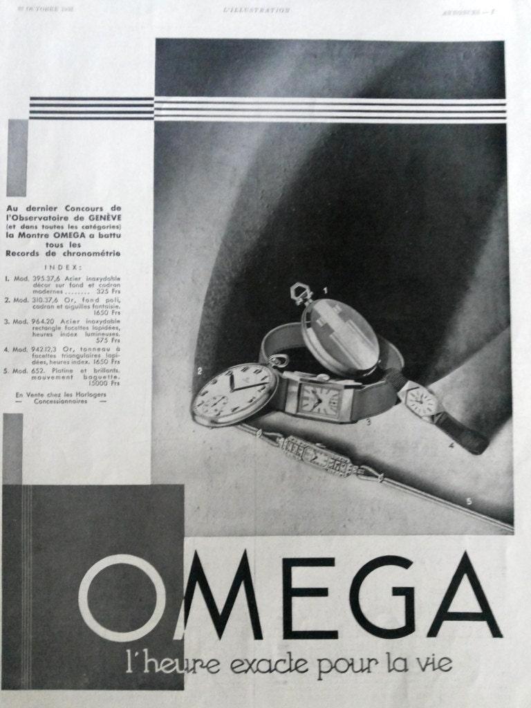 omega werbung jahrgang poster omega uhren retro poster alte. Black Bedroom Furniture Sets. Home Design Ideas