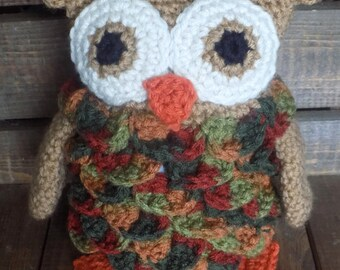 Crocheted Owl Pattern