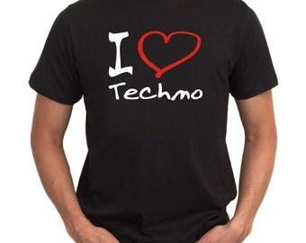 I Love Techno 1 T-Shirt