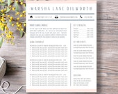 Buy 1 Get 1 FREE - Resume Template | Cover Letter, Thank You, References + Unlimited Pages | Microsoft Word | Mac + PC | Instant Download